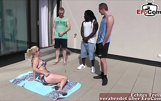 german foursome groupsex alongside a bbc